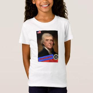 Thomas Jefferson Baseball Card T-Shirt