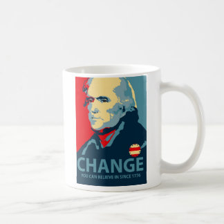 Thomas Jefferson Change Basic White Mug