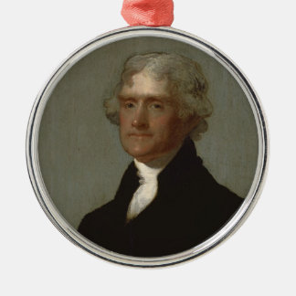 Thomas Jefferson Christmas Ornament