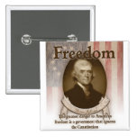 Thomas Jefferson – Freedom Buttons
