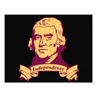 Thomas Jefferson Invitations