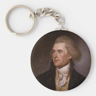 Thomas Jefferson Keychain