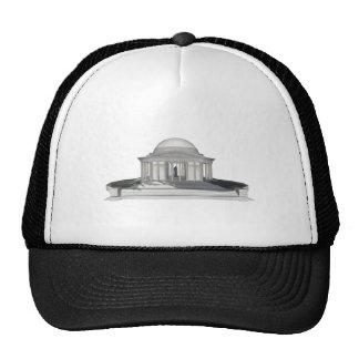 Thomas Jefferson Memorial: 3D Model: Hat