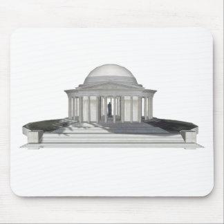 Thomas Jefferson Memorial: 3D Model: Mouse Pad
