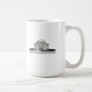 Thomas Jefferson Memorial: 3D Model: Mugs