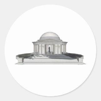 Thomas Jefferson Memorial: 3D Model: Stickers