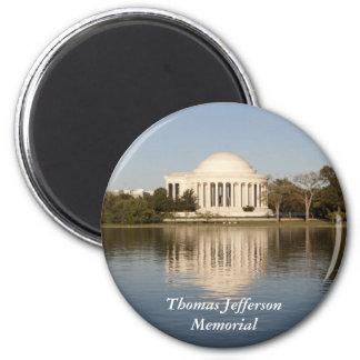 Thomas Jefferson Memorial 6 Cm Round Magnet