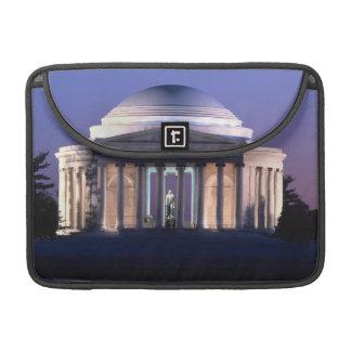 Thomas Jefferson Memorial at Dusk Sleeve For MacBooks