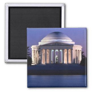Thomas Jefferson Memorial at Dusk Fridge Magnets