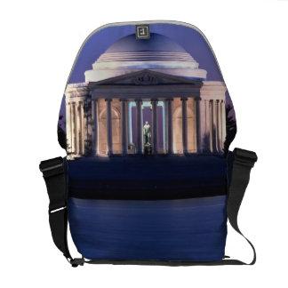 Thomas Jefferson Memorial at Dusk Messenger Bag