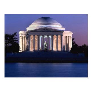 Thomas Jefferson Memorial at Dusk Postcard