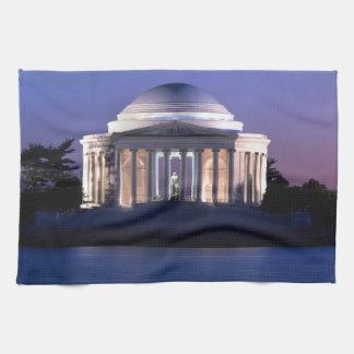 Thomas Jefferson Memorial at Dusk Towels