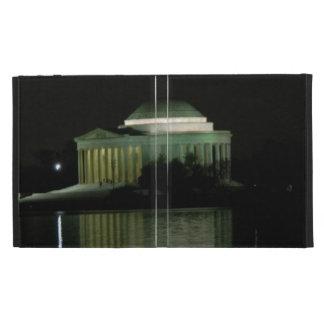 Thomas Jefferson Memorial at Night iPad Folio Cover
