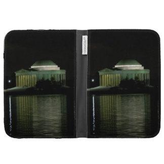 Thomas Jefferson Memorial at Night Kindle Folio Case