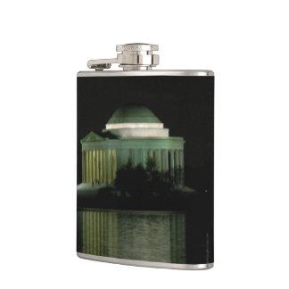 Thomas Jefferson Memorial at Night Flasks