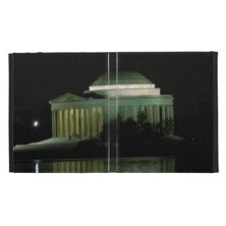 Thomas Jefferson Memorial at Night iPad Case