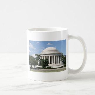Thomas Jefferson Memorial Basic White Mug