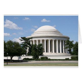 Thomas Jefferson Memorial Card