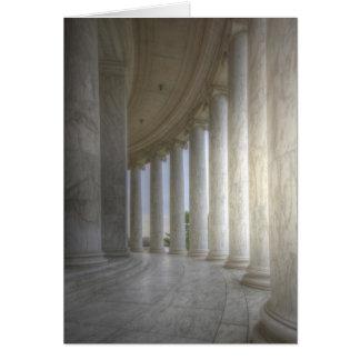 Thomas Jefferson Memorial Circular Colonnade Greeting Card