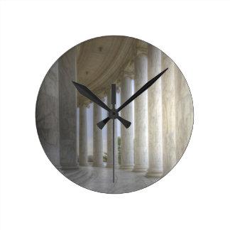 Thomas Jefferson Memorial Circular Colonnade Wallclocks