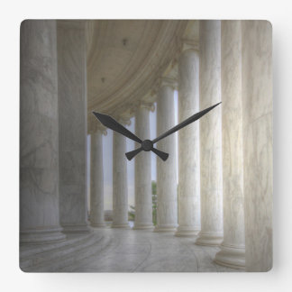 Thomas Jefferson Memorial Circular Colonnade Clocks