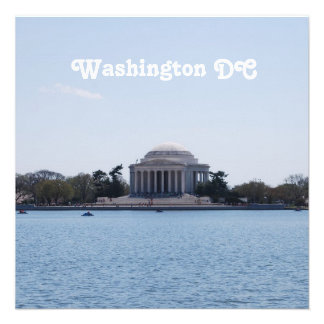 Thomas Jefferson Memorial Invitations