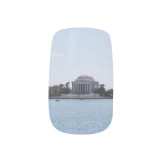 Thomas Jefferson Memorial Nail Sticker