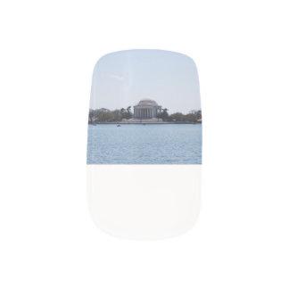 Thomas Jefferson Memorial Nail Stickers