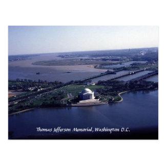 Thomas Jefferson Memorial Post Card