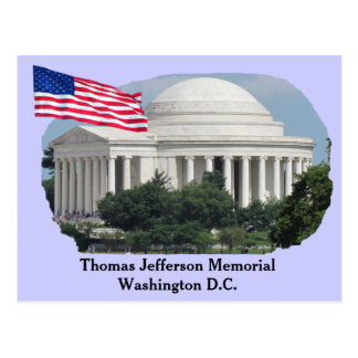 Thomas Jefferson Memorial _ postcard