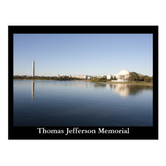 Thomas Jefferson Memorial Postcards