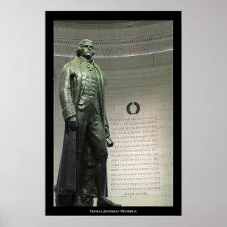 Thomas Jefferson Memorial Poster