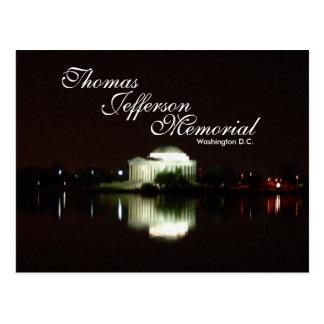 Thomas Jefferson Memorial, Washington D.C. Postcard