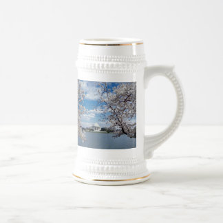 Thomas Jefferson Memorial with Cherry Blossoms Coffee Mug