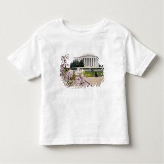 Thomas Jefferson Memorial with cherry blossoms Tee Shirt