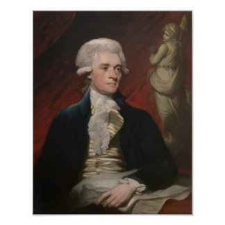 Thomas Jefferson Painting Poster