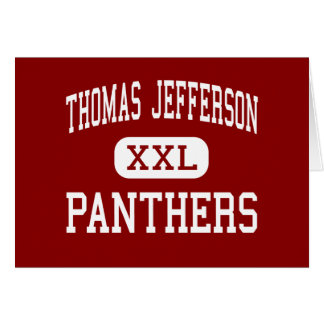 Thomas Jefferson - Panthers - Menomonee Falls Greeting Card