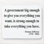 Thomas Jefferson Quote 1a Mouse Mats