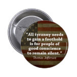 Thomas Jefferson Quote Buttons