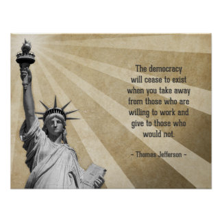Thomas Jefferson Quote Posters