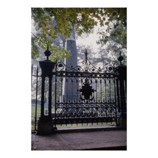 Thomas Jefferson s Grave at Monticello Posters
