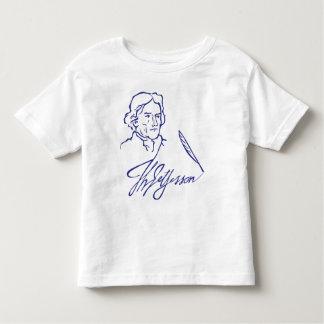 Thomas Jefferson Toddler T-Shirt