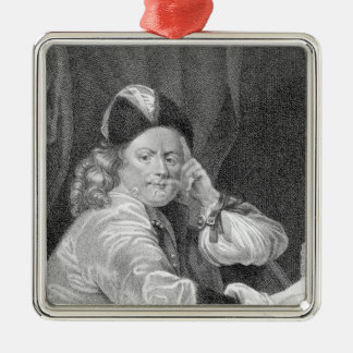 Thomas Killigrew, engraved by J.J Van den Bergh Christmas Ornament