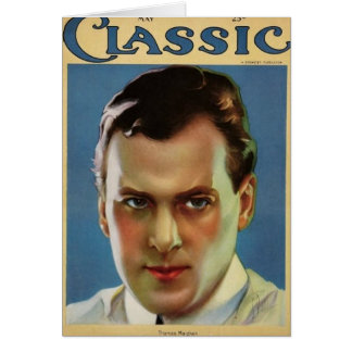 Thomas Meighan Vintage 1923 Movie Magazine Card