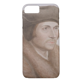 Thomas More, Lord Chancellor (1478-1535) engraved iPhone 8/7 Case