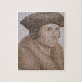 Thomas More, Lord Chancellor (1478-1535) engraved Jigsaw Puzzle