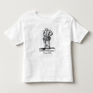 Thomas Nashe , from a pamphlet, pub. in 1597 Toddler T-Shirt