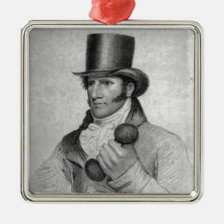 Thomas Owen, engraved by Hopwood Christmas Ornament