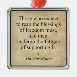 Thomas Paine Christmas Ornament