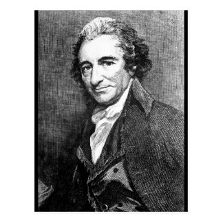 Thomas Paine.  Copy _War Image Postcard